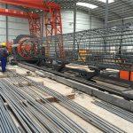 pinakamahusay na presyo welded wire mesh roll machine, Reinforcing hawakan tahi manghihinang diameter 500-2000mm