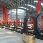 Ang cnc steel cage hinang machine steel roll seam welder gamitin para sa gusali
